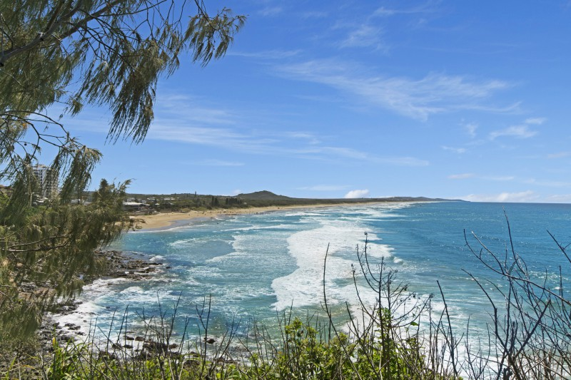 North to Sunshine Beach